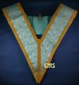 Officers Collar Gold Trim