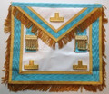 Gold Past Masters Apron with fringe