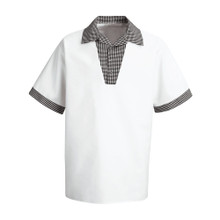 Unisex Snap-V Chef Shirt, size:S-3XL