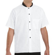 Black Trim Cook Shirt, size:S-3XL