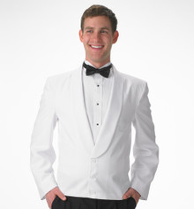 His White Eton Jacket (34-60)