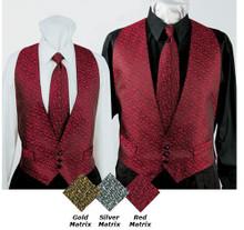 Unisex Matrix Backless Vest, size:XS-2XL (MORE COLORS)