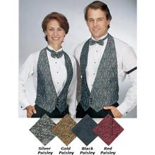 Unisex Paisley Backless Vest, size:XS-2XL (MORE COLORS)