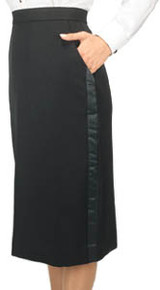 Below-the-Knee Tuxedo Skirt, size 2-28