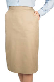 Below-the-Knee Casual Skirt, size 2-28 (More Colors)