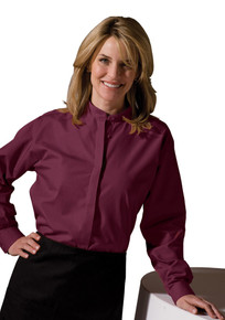 Edwards Women's LS Banded Collar Shirt (More Colors) 5396