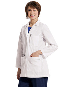 "31"" Landau 8726 Women's Classic Lab Coat (XS-3XL)"