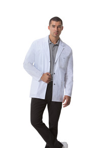 "31"" Dickies Gen Flex 81403 Men's Snap Front Lab Coat (XS-3XL)"