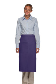Daystar 120 One Pocket Full Bistro Apron w/Pencil Divide