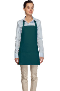 "24"" Three Pocket Bib Apron"