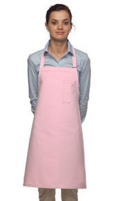 "Daystar 211 28"" Pencil Pocket Bib Apron"