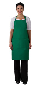 "Daystar 220 34"" Center Divided Pocket Butcher Apron"