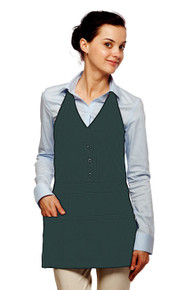 "Daystar 332 26"" Three Pocket Single Breasted Apron"