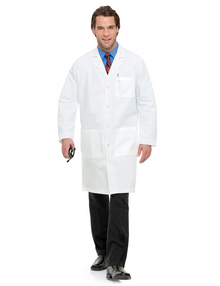 "42"" Landau 3145 Men's Labcoat (32-56,38T-56T)"
