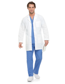 "35"" Landau Five Pocket Labcoat, size:32-52"