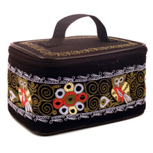 Embroidered Cosmetics Case