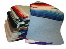 These blankets for yoga are extremely soft and can also be used as throws anywhere around the house.
