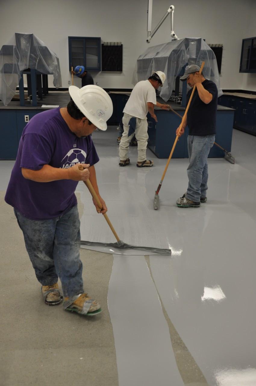 Pour n walk for Self leveling floor resurfacer