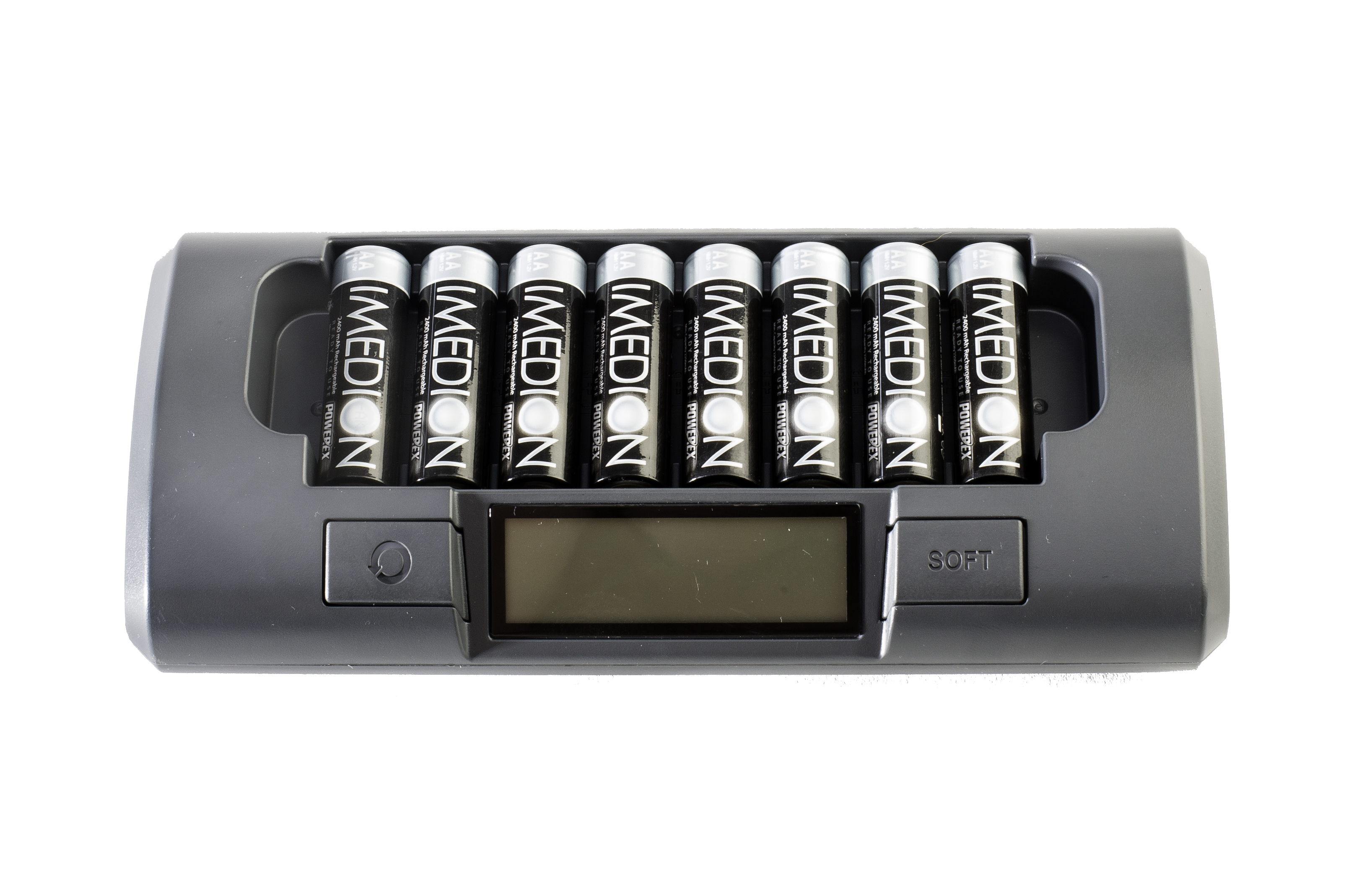 SALE BUNDLE: PowerEx MH-C800S Charger + Imedion AA/AAA Batteries  Charger W/ 8x AA Imedion Batteries