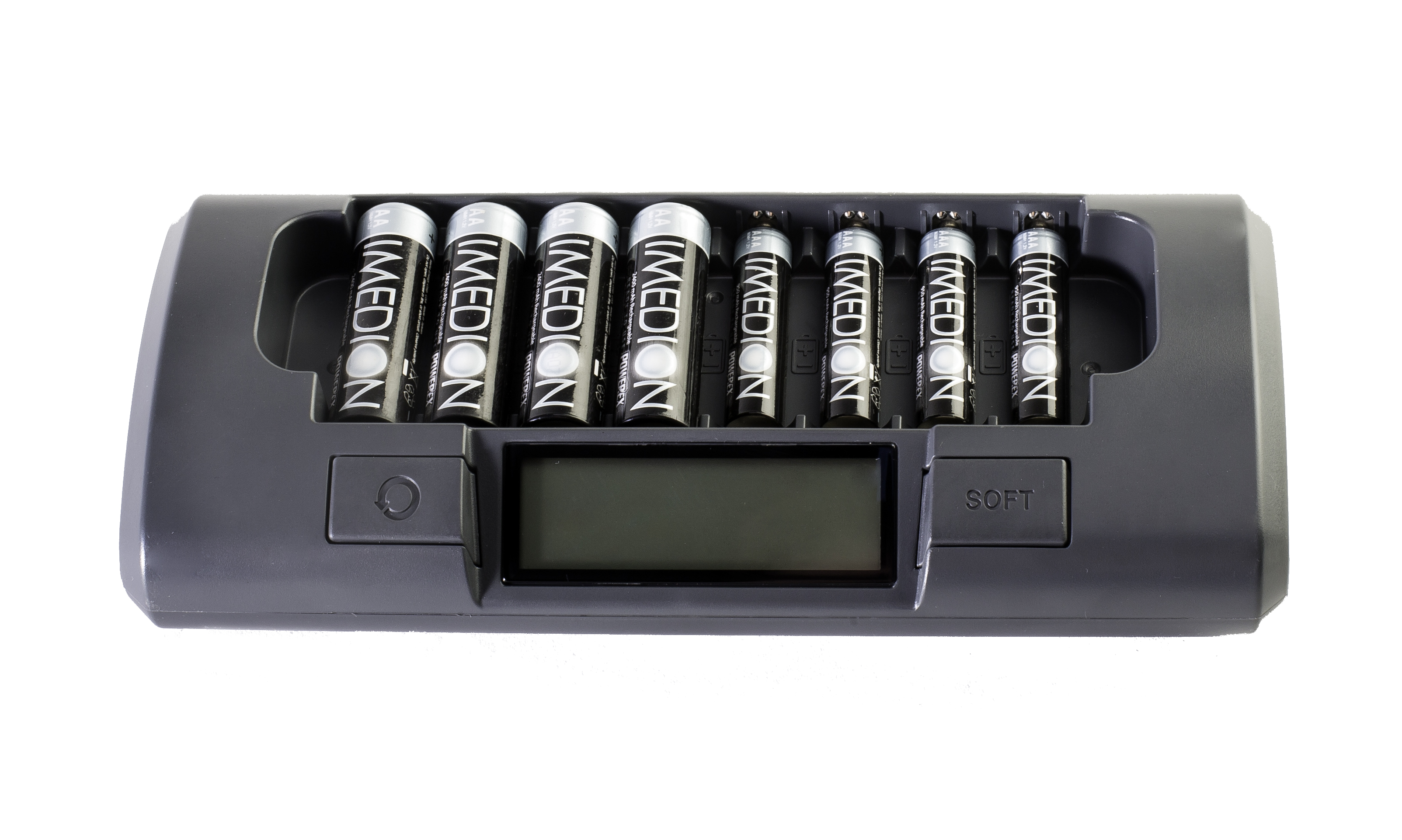 SALE BUNDLE: PowerEx MH-C800S Charger + Imedion AA/AAA Batteries  Charger W/ 4x AA and 4x AAA Imedion Batteries