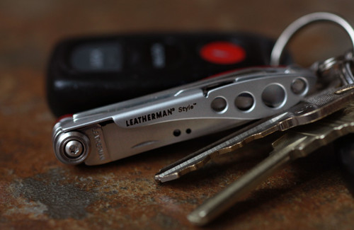 Leatherman Style Mini Keychain Multi-Tool