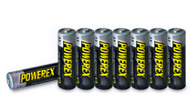 PowerEx Rechargeable AA Batteries - 8-Pack,  NiMH 2700mAh