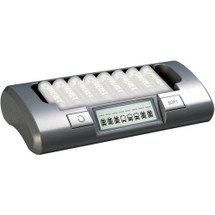Maha PowerEx MH-C800S 2-Hour Eight Cell Battery Charger for AA/AAA NiMH Rechargeable batteries