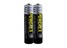PowerEx AAA Rechargeable Batteries - NiMH 1000mAh AAA