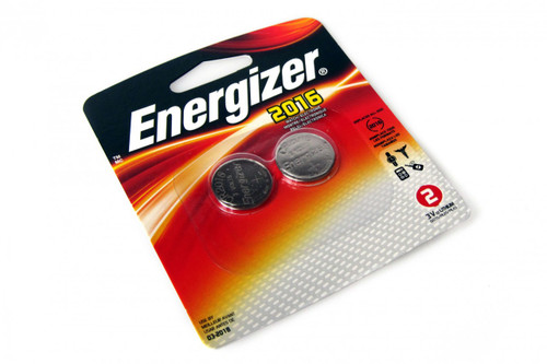Energizer CR2016 Lithium Batteries - 2-Pack