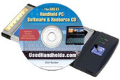 UsedHandhelds.com Resource CD + WiFi Card - Over $300 of Software!