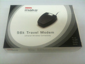 DIAMOND MAKO PSION 56K v.90 Infrared Travel Modem 5DTGTB-27848-DT-T