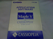 Casio Application Software 'Maple V' for Cassiopeia A-21S/A-22T Handheld PC