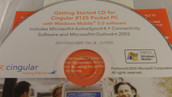 Getting Started CD for Cingular 8125 Pocket PC with Windows Mobile 5.0 Software