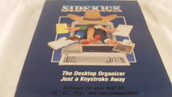Borland International SideKick Desktop Organizer Software & Owners Handbook