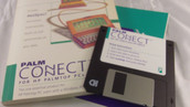 Palm Connect for HP 100LX and 200LX Palmtop PCs