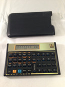 Hewlett Packard 12C Financial Calculator