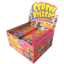 Cereal Killers Series 2 Hobby Box - 24 Packs of 8 Stickers/ or 7 Stickers and 1 Premium