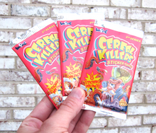 Cereal Killers Series 2 Wrappers
