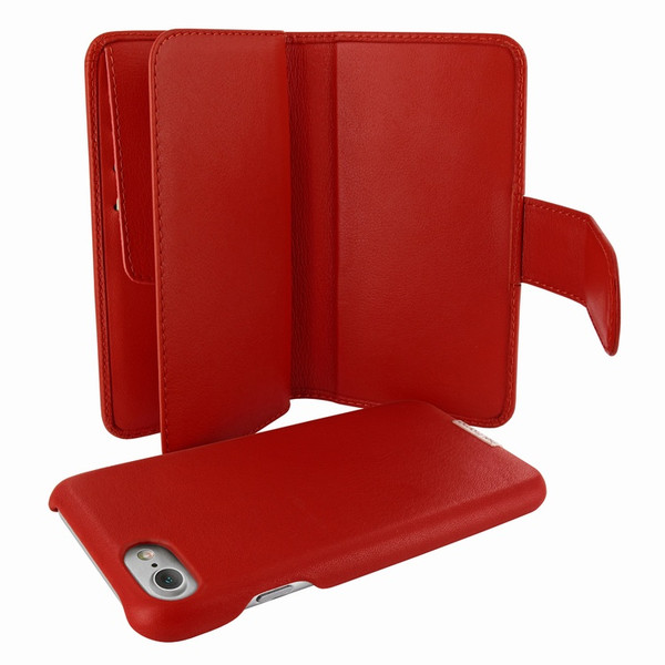 Piel Frama 764 Red WalletMagnum Leather Case for Apple iPhone 7