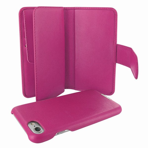 Piel Frama 764 Pink WalletMagnum Leather Case for Apple iPhone 7