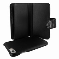 Piel Frama 764 Black Lizard WalletMagnum Leather Case for Apple iPhone 7