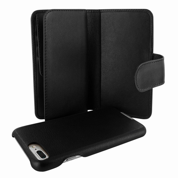 Piel Frama 769 Black WalletMagnum Leather Case for Apple iPhone 7 Plus