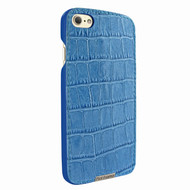 Piel Frama 763 Blue Crocodile FramaSlimGrip Leather Case for Apple iPhone 7