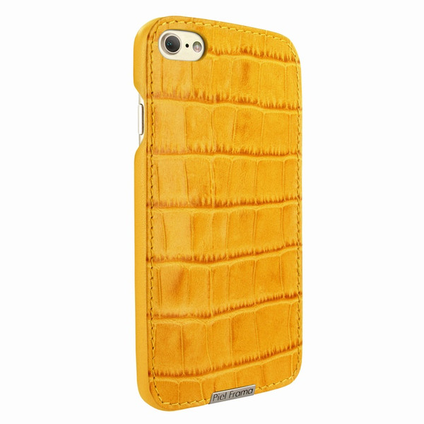 Piel Frama 763 Yellow Crocodile FramaSlimGrip Leather Case for Apple iPhone 7