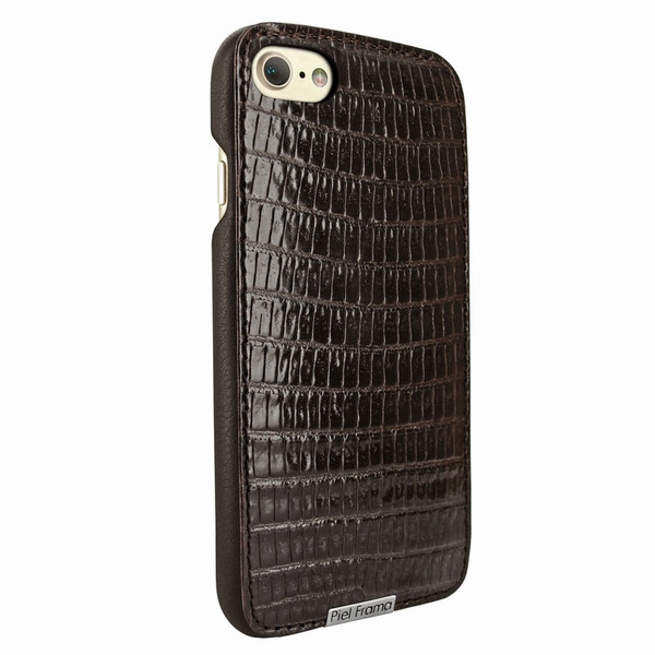Piel Frama 763 Brown Lizard FramaSlimGrip Leather Case for Apple iPhone 7