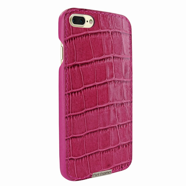Piel Frama 768 Pink Crocodile FramaSlimGrip Leather Case for Apple iPhone 7 Plus