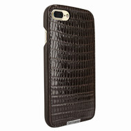 Piel Frama 768 Brown Lizard FramaSlimGrip Leather Case for Apple iPhone 7 Plus