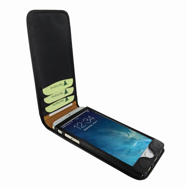Piel Frama 761 Black Classic Magnetic Leather Case for Apple iPhone 7