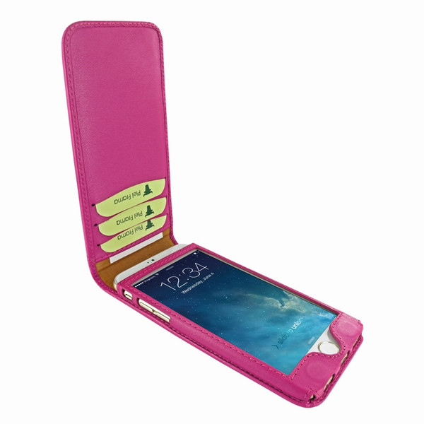 Piel Frama 761 Pink Classic Magnetic Leather Case for Apple iPhone 7