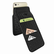 Piel Frama 760 Black Ostrich iMagnumCards Leather Case for Apple iPhone 7